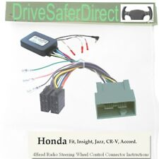 ANAlogz-SWC-2871-06 Steering Wheel Control for ISO Stereo/Honda CR-Z 10-