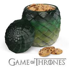 Game Of Thrones GoT Dragon Egg Canister Cookie Jar Kitchen Storage Ceramic - New