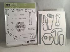 NAILED IT stamp & BUILD IT Framelits Stampin Up Tools Hammer Masculine Men Guys