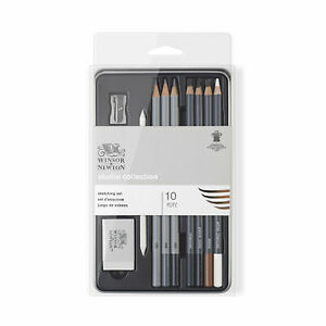 Winsor & Newton Studio Collection Sketching Set - 10 piece set