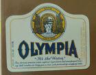 VINTAGE AMERICAN BEER LABEL - OLYMPIA BREWERY, OLYMPIA BEER 355 ML