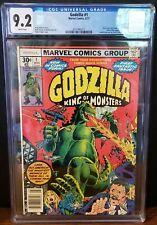 Godzilla 1 CGC 9.2 White Pages