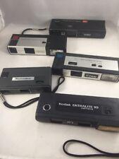 LOT 5 110 Film Cameras Kodak Ektralite Continental Electroflash 555 Kmart Focal