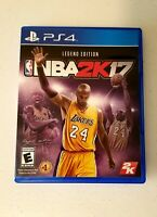 "NBA 2K17 -- Legend Edition ""Kobe Bryant"" (Sony PlayStation 4 PS4 , 2016)"