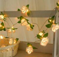 String Lights Battery Garland LED Fairy Light Xmas Wedding Party Decor Christmas