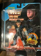 Rare French Version 1992 WWF Undertaker 5 inch Wrestling Action Figure Blue Card