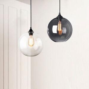 Kitchen Glass Pendant Light Bar Chandelier Lighting Home Lamp LED Ceiling Lights