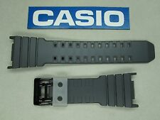 Genuine Casio G-Shock G-5500TS G-5500TS-8 watch band dark gray rubber resin