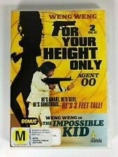 Weng Weng For Your Height Only Impossible Kid Double DVD