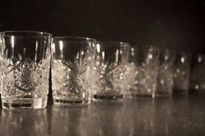 Drinkware/Stemware Etched Crystal & Cut Glass