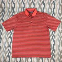 Roundtree & Yorke Men's ShortSleeve Shirt Regular Fit Orange Size XLT