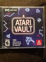 ATARI Vault: 100 Arcade & ATARI 2600 Classics (PC Video Game, 2018) NEW SEALED