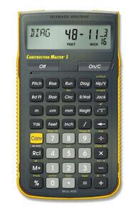 Calculated Industries Construction Master 5 Scientific Calculator Model 4050