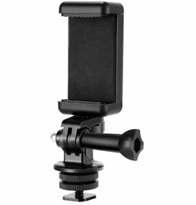 Neewer Phone Holder / Hot Shoe Mount Adapter Kit Compatible with Action Camera