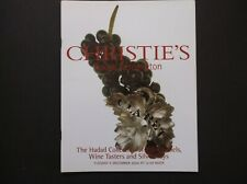 HADAD COLLECTION WINE LABELS ENAMELS PORT MADEIRA TASTERS SILVER TOYS CHRISTIE'S