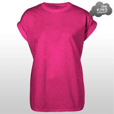 Camisetas de mujer de color principal rosa talla M