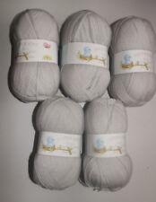 Job Lot James C Brett Baby Supersoft DK Yarn, 500g - Grey BB11 **FREE POSTAGE**