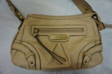 Chaps by Ralph Lauren NEW Leather Handbag Purse Cream Leather 69a8d8a3bc7f8