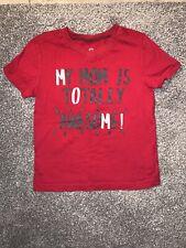 Baby Boys Okie Dokie Mom T Shirt Size 24 Months