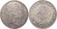 Pièces de monnaie françaises de 5 francs 5 francs en argent sur Napoléon