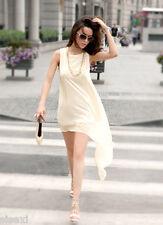 ROBE BLANCHE 40 42 SEXY WHITE DRESS SOIRéE CLUBWEAR UNDERWEAR WOMAN DONNA MUJER