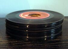 25 lot 45 RPM R & R record ROCK AND ROLL vinyl vintage classic ALL LISTED