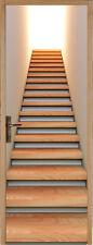 Sticker pour porte montée d'escalier 73x204cm réf 114