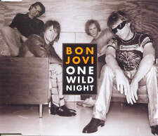 BON JOVI - One wild night 4TR CDM 2001 POP ROCK / EU Print
