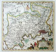 MIDDLESEX LONDON  BY THOMAS KITCHIN c1770  GENUINE ANTIQUE ENGRAVED MAP