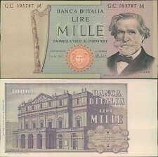 1000 lire 05/08/1975 G. Verdi fds