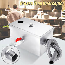 More details for restaurant kitchen thickened stainless steel grease trap wastewater interceptor