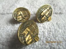 lot of 3 Vintage  Roadway Safety Service award  Pins !2, 13, 18 Yr tie tack