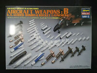 AIRCRAFT Weapons: B, U.S. Guided Bombs, Hasegawa, Scale:1/48, Kit: X48-2,Rarität