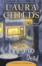 Egg Drop Dead - A Cackleberry Club Mystery by Laura Childs  HB/DJ