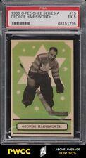 1933 O-Pee-Chee Series A George Hainsworth #15 PSA 5 EX (PWCC-A)