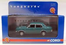 Morris marina 1300 super aqua vanguards 1/43 corgi uk 1971 va06309 rhd blue