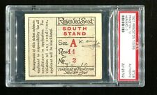 1921 Princeton Tigers vs Harvard Crimson Football Ticket PSA 22125702