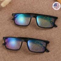 Anti-blue Light Reading Glasses Progressive Multifocal Lens Presbyopia Glasses.