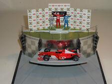 1/43 AB BBR 2003 GP Indianapolis Podium Ferrari Schumacher Raikkonen Frentzen