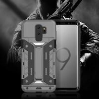 Heavy Duty Drop Proof Armor Silicone Phone Case For Samsung Galaxy S9 / S9+ Plus