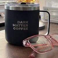 Dark Matter Chicago Coffee Insulated Travel Stainless Steel Mug Tumbler 12 Oz