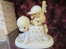 "Precious Moments-#522120 ""Wishing You A Very Successful Season""-Baseball - NIB"