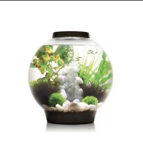 biOrb CLASSIC 30 Aquarium w All Decor /Accessories Included - LED Light - Black