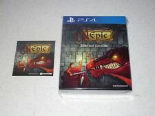 Unepic Limited Collector's Edition Sony PS4 Sealed Import 500 Copies