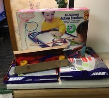 RARE Electronic Playskool AIR-Powered ACTION STADIUM 2 In 1 Hockey & Pinball