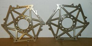 BrakeTech Billet Front Brake Rotor Carriers Ducati 748 996 998 800SS 900SS S2R