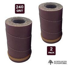 Drum Sander Sanding Wraps/Rolls, 240g for JET/Performax 16-32 &Ryobi WBS1600, 2