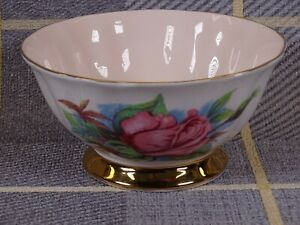 Paragon 6 World Famous Roses Sugar Bowl Rendezvous Harry Wheatcroft