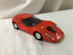 1/25 scale metal model POLITOYS OSI Scarebo 1600 Alfa Romeo orange