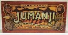 Jumanji Board Game 1995 Replacement Parts Box Board Dice Pawn Rescue Cards Timer
